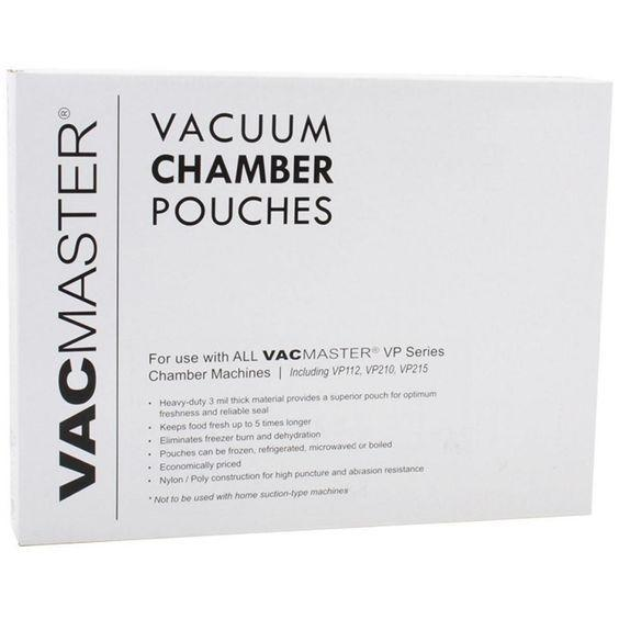 "CLEARANCE! 3 Mil 6"" X 15"" Chamber Sealer Pouches - 1000 Ct."