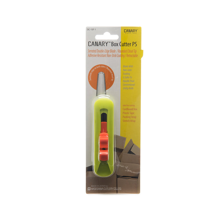 "Canary Box Cutter PS, 1"" Blade, ​DC-15F-1"