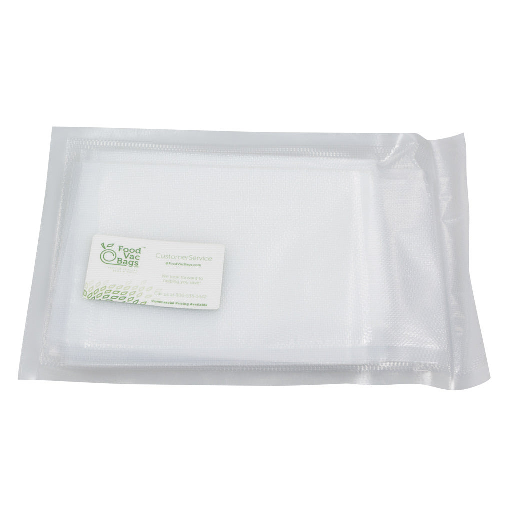 Sample FoodVacBags Vacuum Sealer Bags