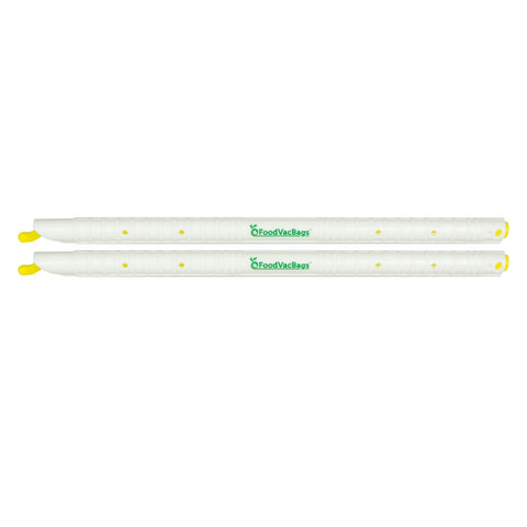 "Two 9"" Genuine GripStic™ Bag Sealing Rods"