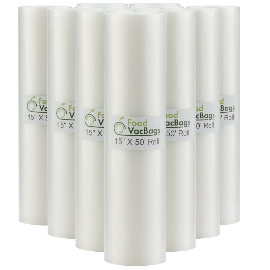 "12 FoodVacBags™ 15"" X 50' Rolls"