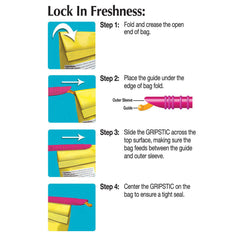 Gripstic bag sealing rod instructions