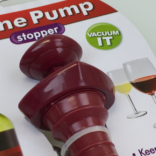 Wine Pump And Stopper