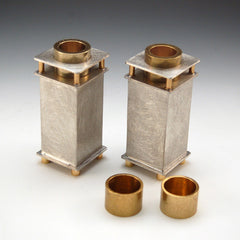JS 009 Square Candle Holders 112-4-L