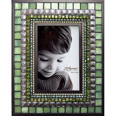 "ZET 006 Mosaic Picture Frame 4"" x 6"" Fern"