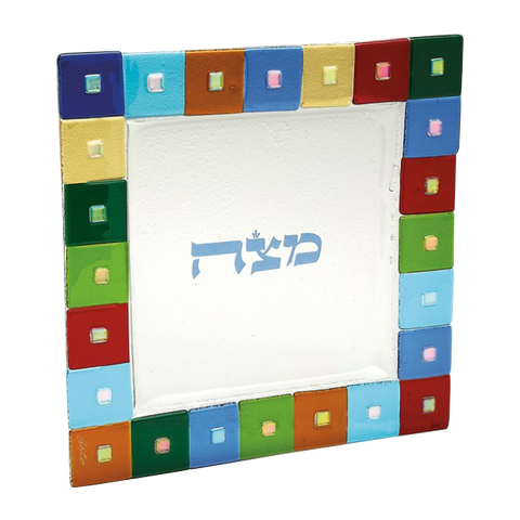 TB 016 Twelve Tribes Matzah Tray 444