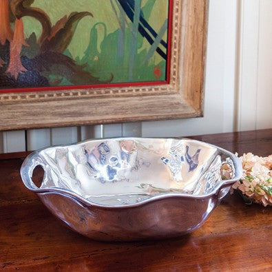 6985 VENTO Rebecca Oval Medium Bowl with Handles