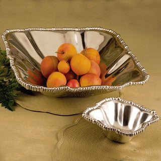Pewter PEARL olanissimo square bowl (small)