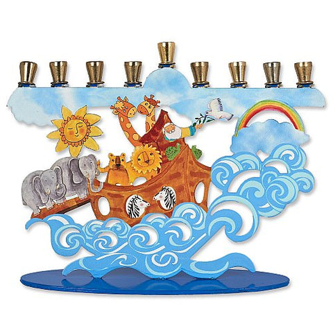 AVI 006 Noah's Ark Menorah 74027