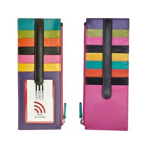 ILI 004 Card Holder w/zip pocket 7800