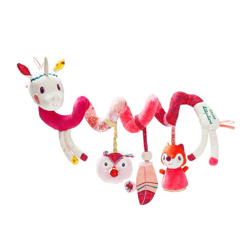 LIL 001 Unicorn Louise Baby Activity Spiral LP-86868