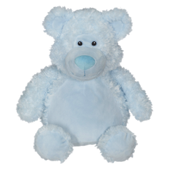 EB 002 Embroidered Blue Teddy Bear
