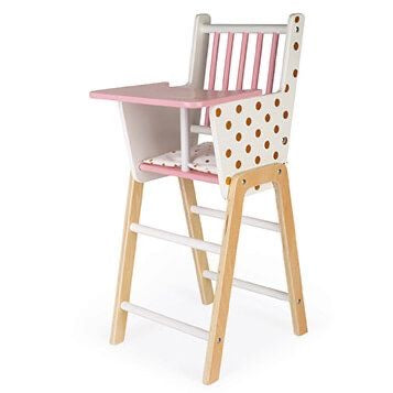 JAN 002 Candy Chic Baby Doll Toy High Chair J05888