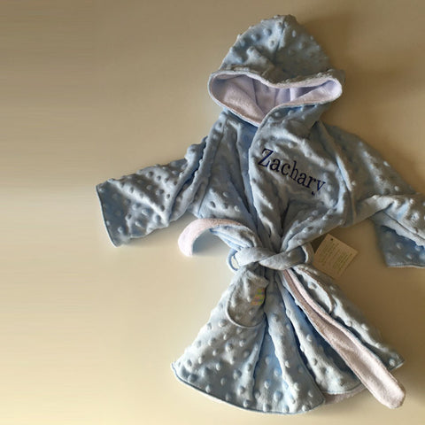 BIZ 002 Dimple Hooded Bathrobe DMP007- Available in assorted colors