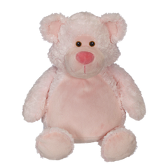 EB 001 Embroidered Pink Teddy Bear