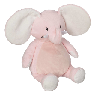 EB 016 Embroidered Elephant Pink