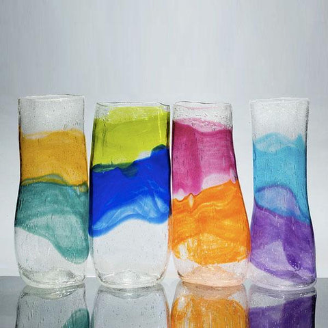 GG 001 Short Watercolor Vase Small