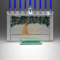 BEA 008 Tree of Life Menorah JM57