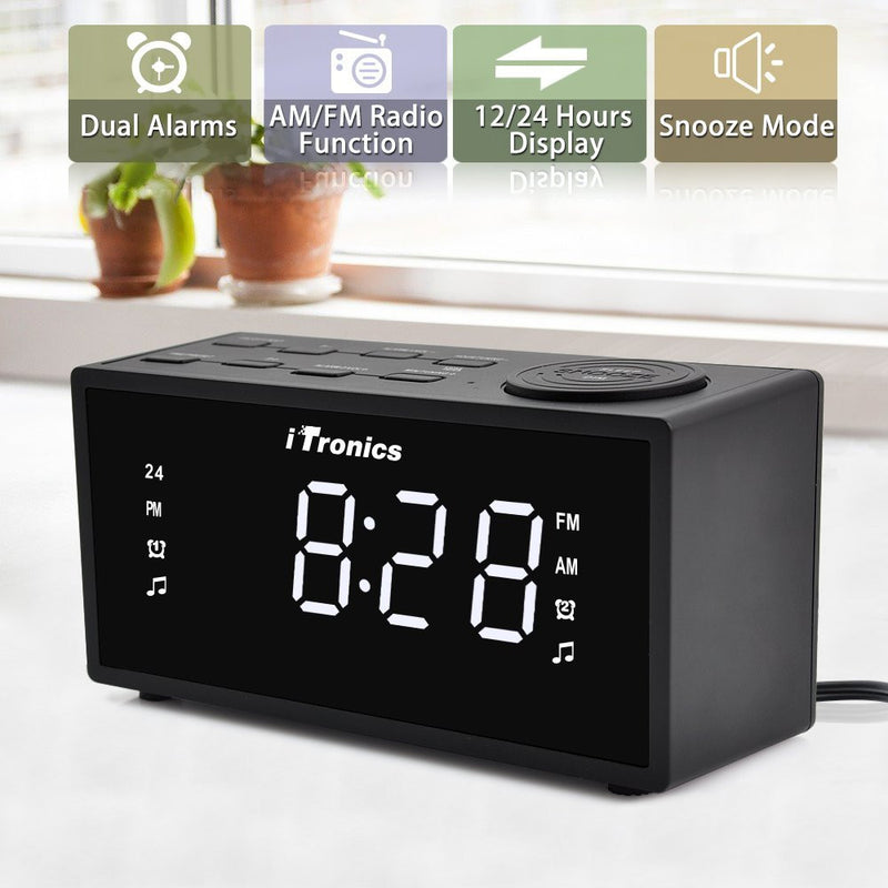 iTronics 9005I Digital Clock Radio