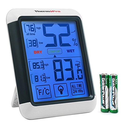 ThermoPro TP-55 Humidity and Temperature Monitor