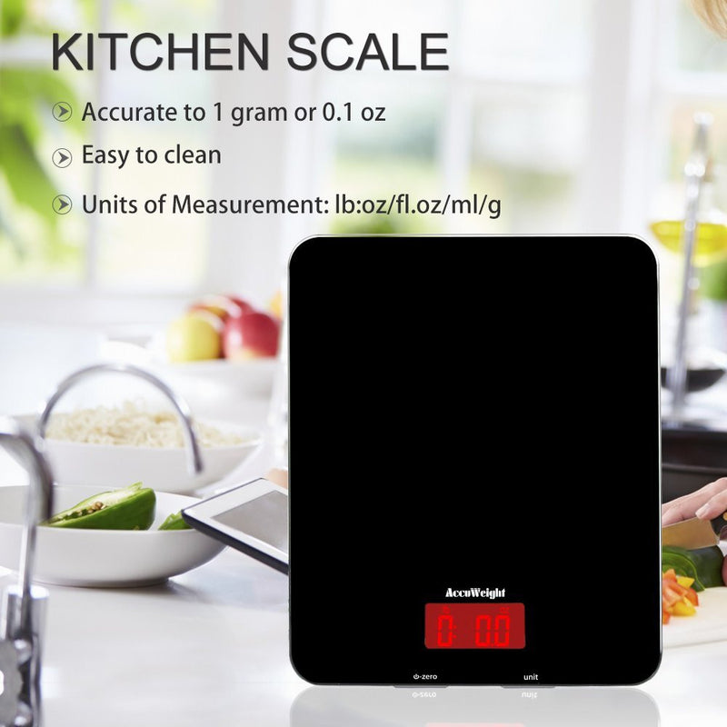 Accuweight 201B Food Scale Features