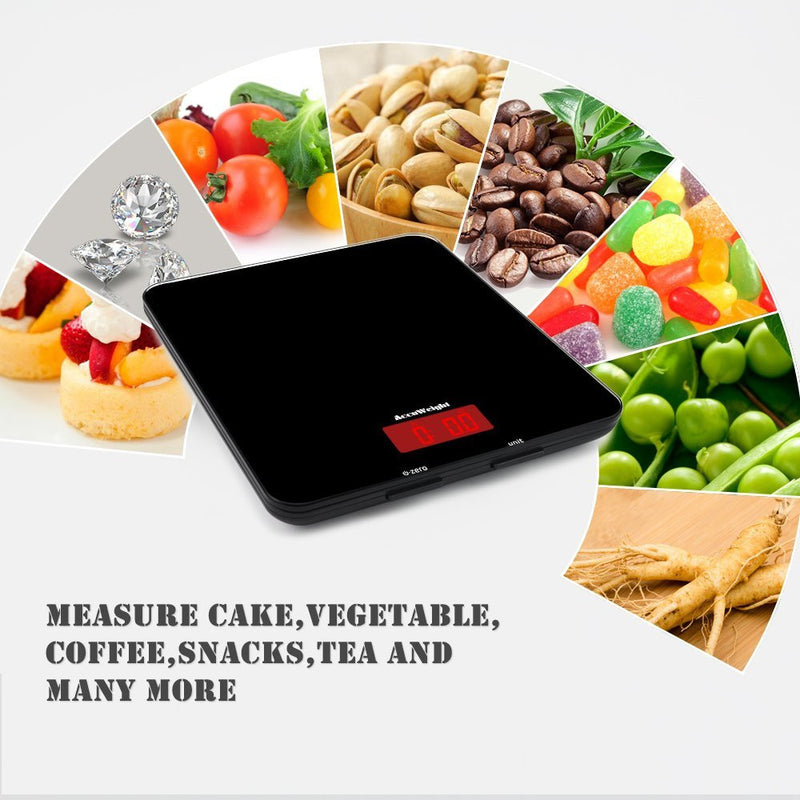 Accuweight AW-KS001 Food Scale Uses