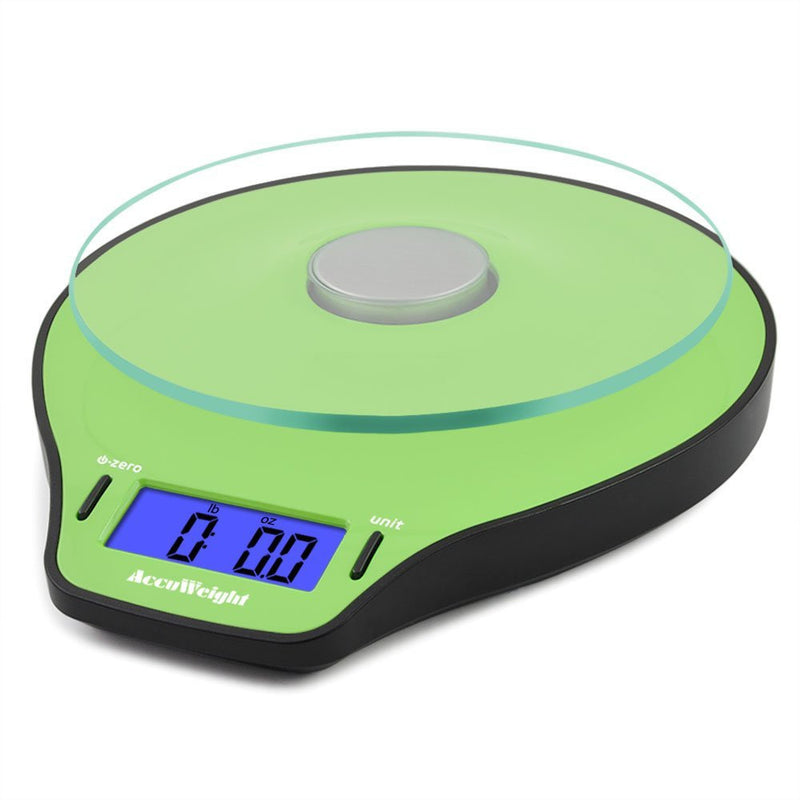 Accuweight AW-KS004WB Digital Kitchen Food Scale Front View