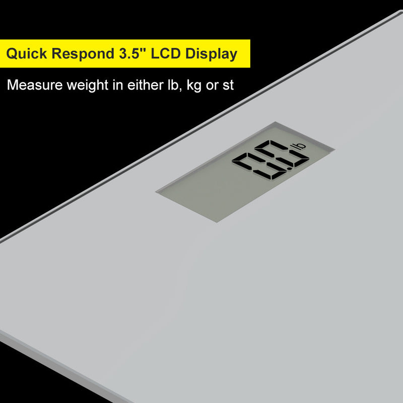 Accuweight AW-BS001BS 3.5'' LCD quick respond display measure weight in lb.kg or st