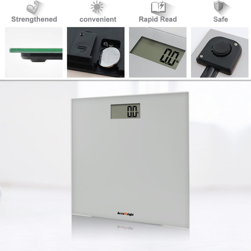 Accuweight AW-BS001BS very convenient - safe, easy to read and strengthened