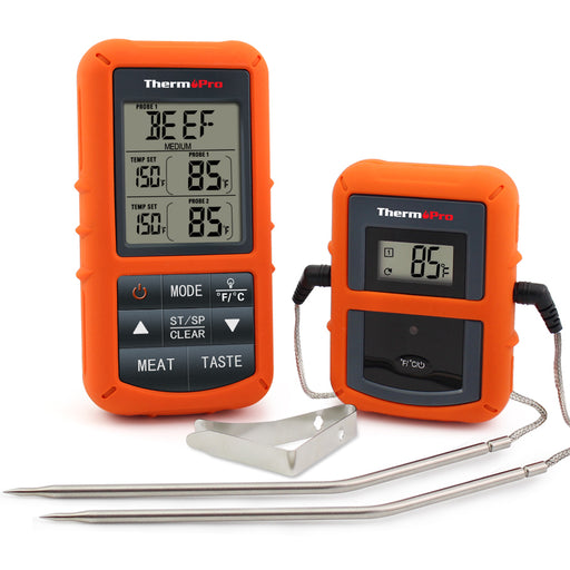 ThermoPro TP-20 Digital Wireless Meat Thermometer Receiver, transmitter