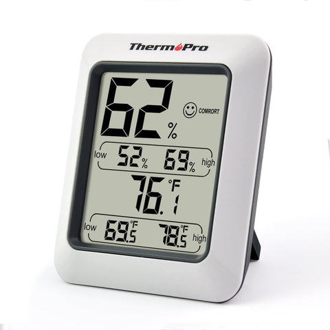 Temperature and Humidity Monitors