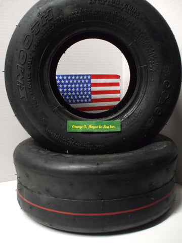 Walker Mower Smooth Rear Tire SET (2) WITH LINER 13x5.0-6 replaces 7035-1