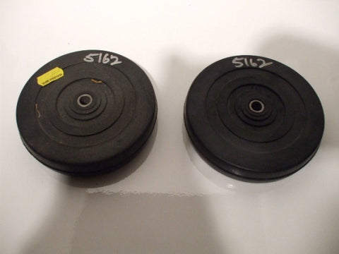 5162 Walker Rubber Bumper Wheels QTY (2)