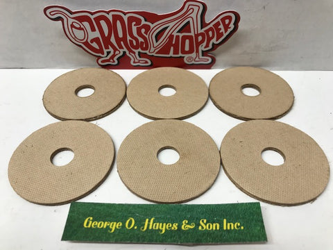 Fiber Blade Washers (6) #421200 for Grasshopper Mower