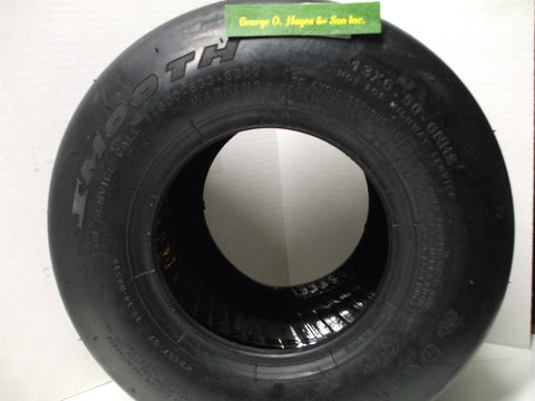 Walker Mower Smooth Tire WITH LINER 13x6.50-6 Replaces #5035-1