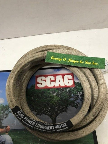 Scag Mower OEM Belt #483182 (MADE WITH KEVLAR)