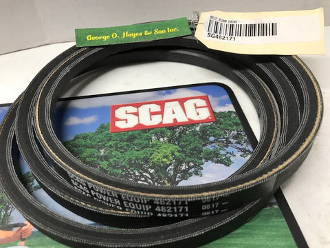 Scag Mower OEM Pump Drive Belt #482171