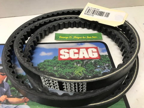 Scag Mower OEM STC Pump Drive Belt  #483172 (MADE WITH KEVLAR)