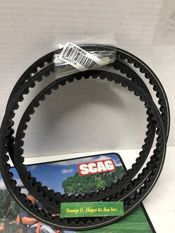 Scag Mower OEM Pump Drive Belt #483314 (MADE WITH KEVLAR)