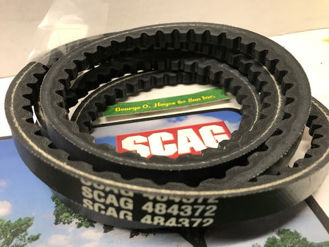 Scag Mower OEM Pump Belt  #484372