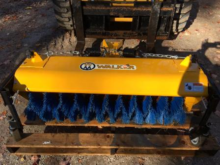 Walker Mower Rotary Broom $2800