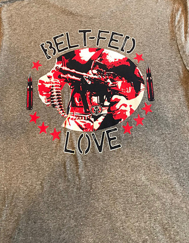 Belt-Fed Love War Pigs Wear Sport Grey