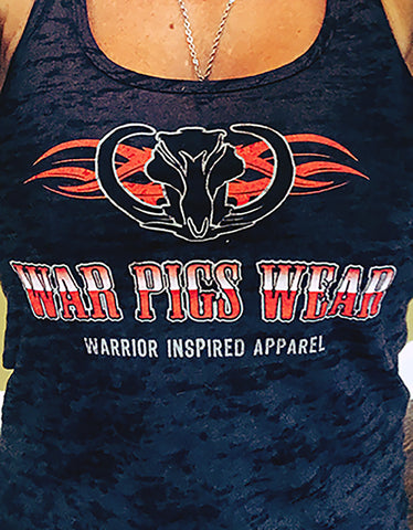 Women's War Pigs Wear Razor Back Tank