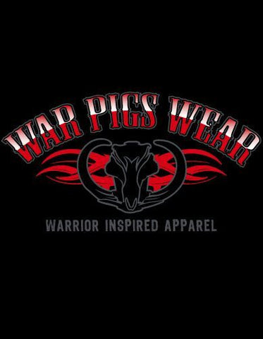 Men's Black War Pigs Wear T-Shirt