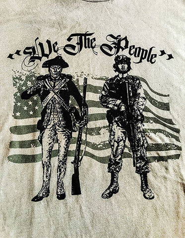 Men's Grey WPW We The People T-Shirt