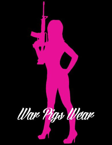 War Pigs Wear - Girls With Guns Tank