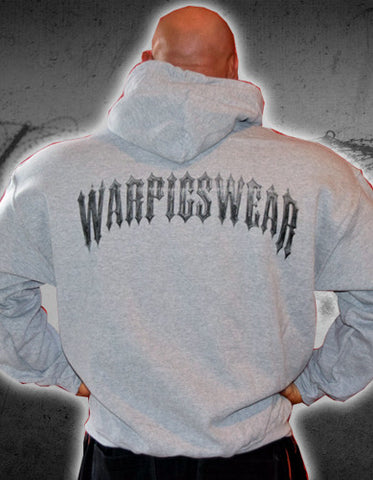 Men's Grey War Pigs Wear Hoodie
