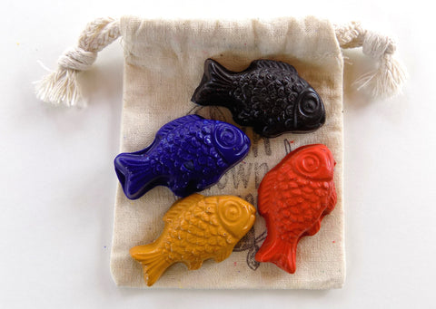 Freshwater Fish Party Favor Bag Sets