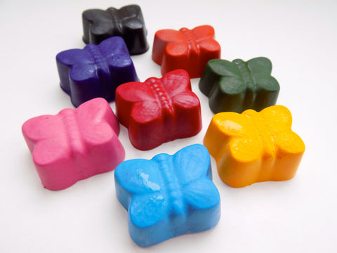 Butterflies - All Natural Soy Crayons (set of eight)