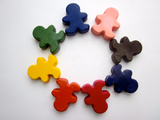 Rainbow People - All Natural Soy Crayons (set of eight)